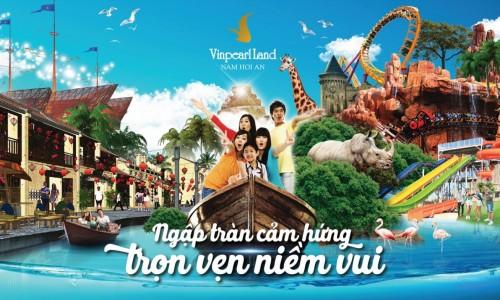 Thuê xe 16 chỗ Đà Nẵng đi VinPearl Nam Hội An