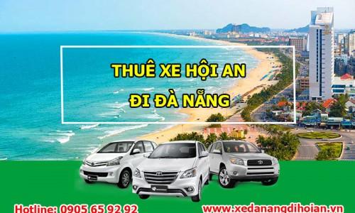 Taxi từ Hội An đi Đà Nẵng giá rẻ, nhanh chóng, an toàn